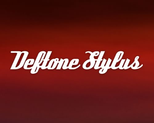 Deftone Stylus font preview