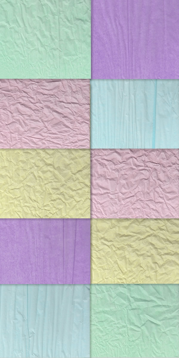 Wrinkled paper texture preview