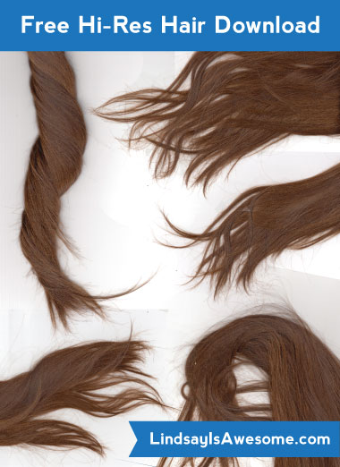 Hair resource preview