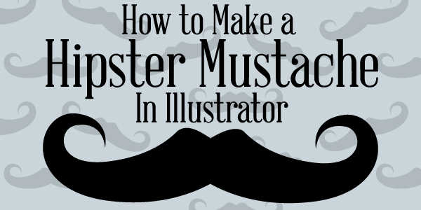 Hipster Mustache Title