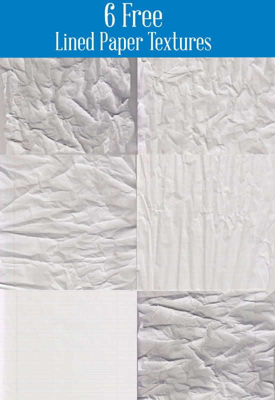 Lined paper texture preview