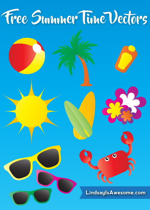 Free summer vector preview