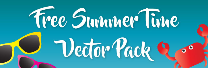 Free summer time vectors
